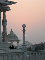 Sunset at Hindu Temple